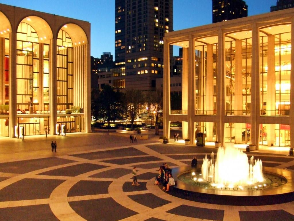 Lincoln Center, New York.