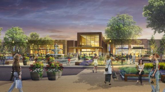 Foothills Mall redesign drawing