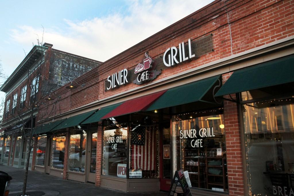 exterior of the Silver Grill Cafe
