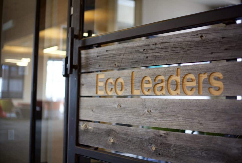 Eco Leaders sign