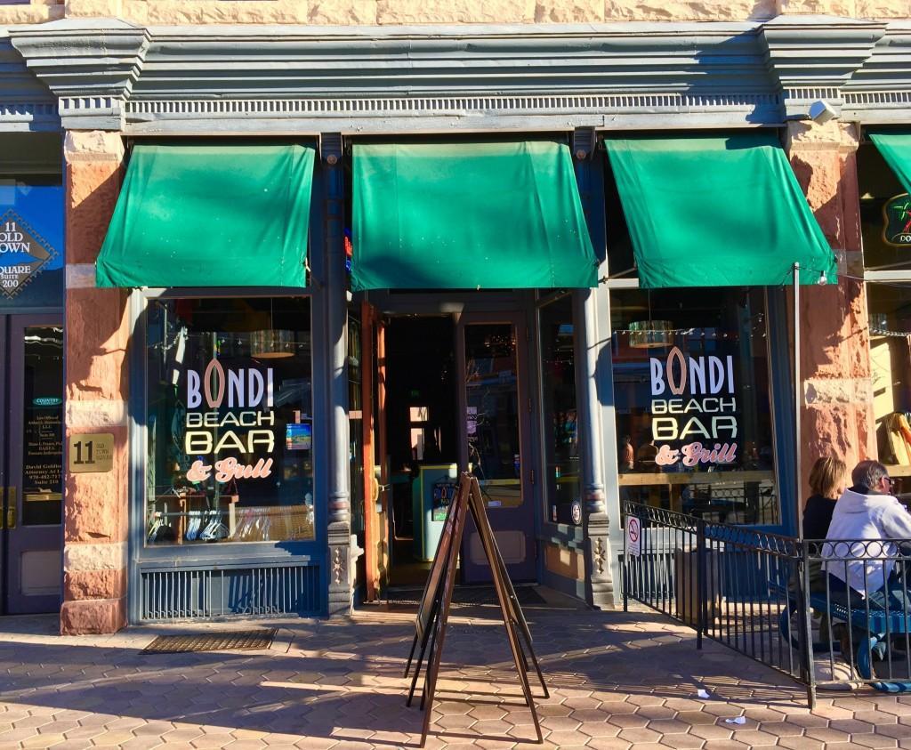 storefront of Bondi Beach Bar