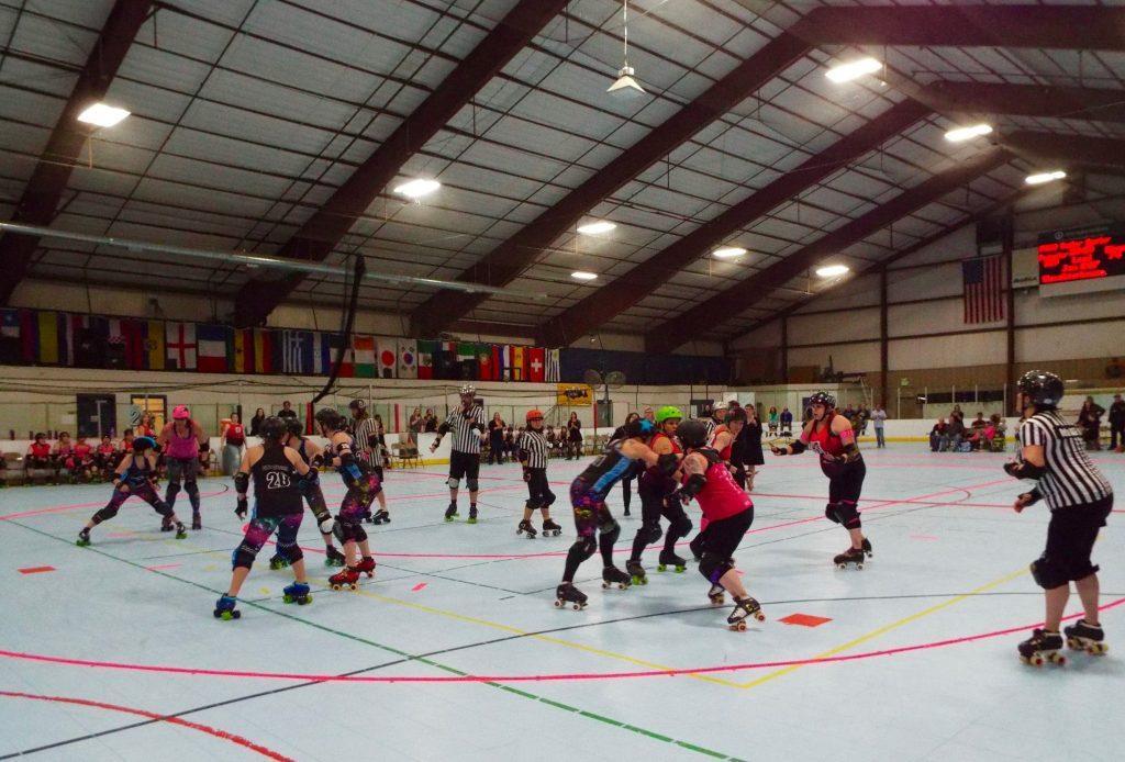 roller derby game