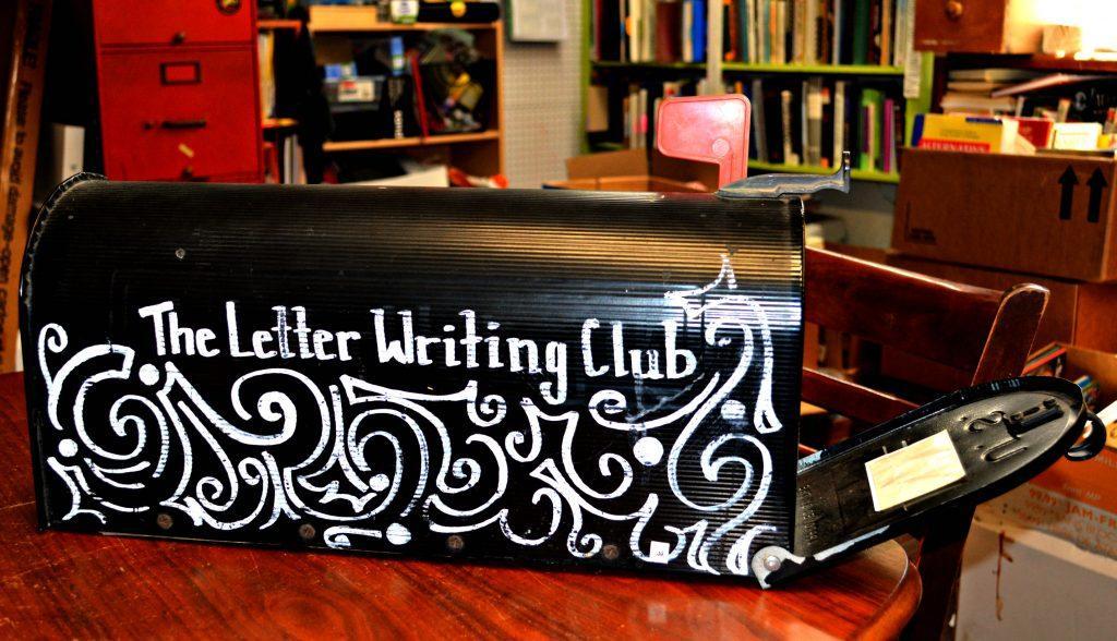 Letter Writing Club mailbox