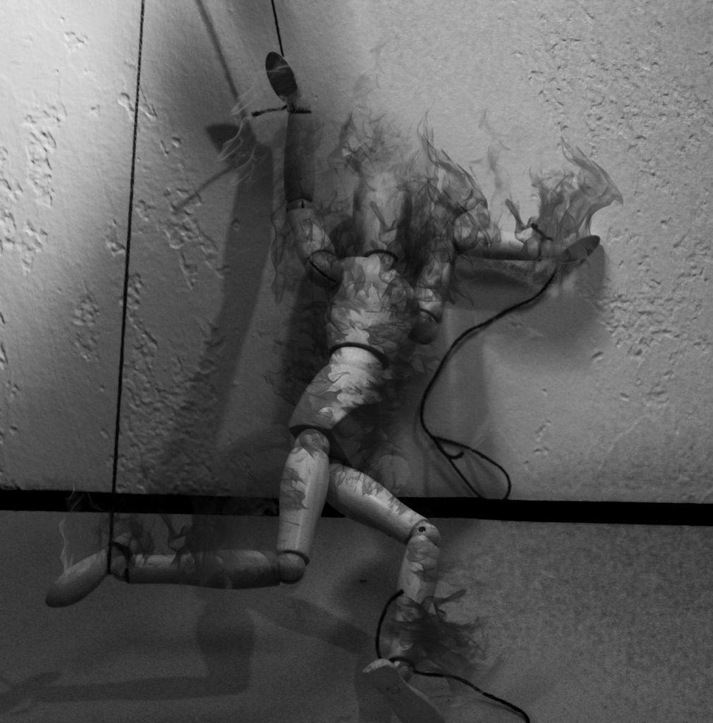 burned puppet