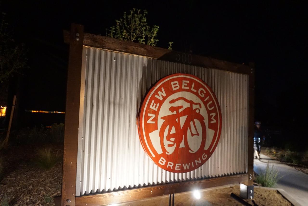 New Belgium sign