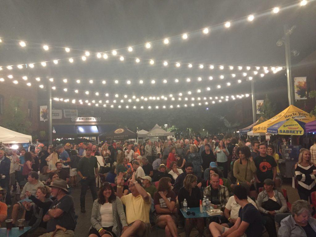 crowd at FORT-toberfest