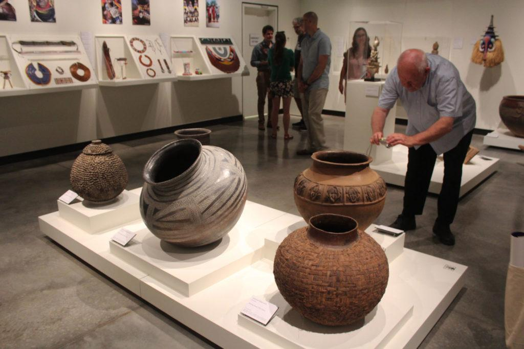 pottery pieces from the African Collection