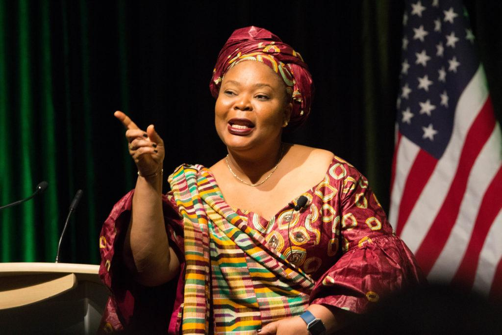 Nobel Prize, Peace, Women's Rights, Leymah Gbowee