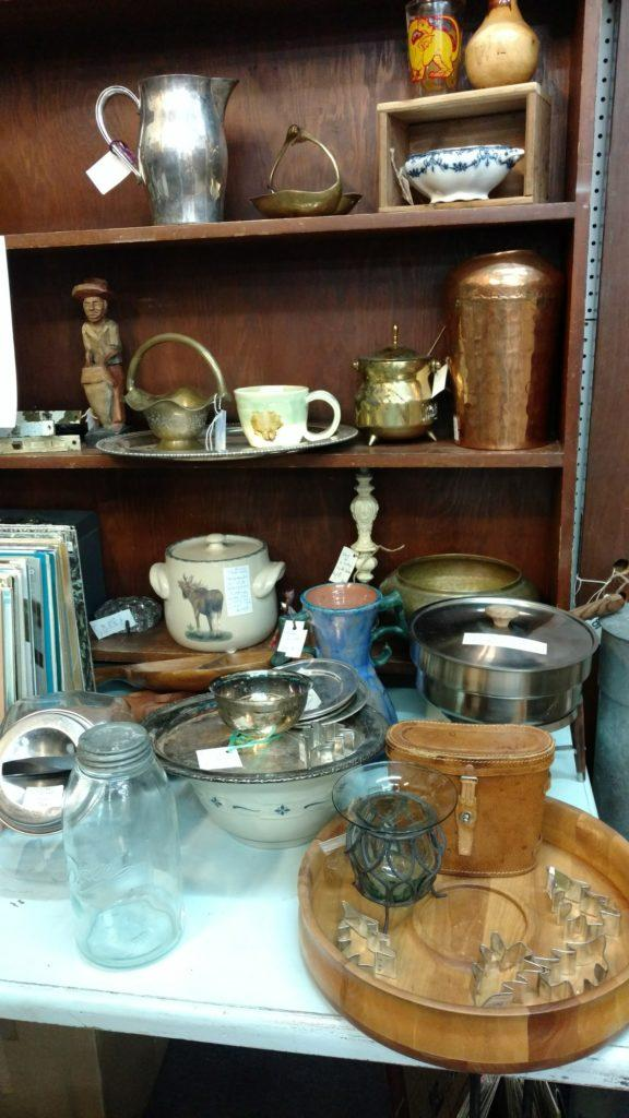 Old Pots and Pans at Foothills Flea Market Photo credit: Fynn Bailey