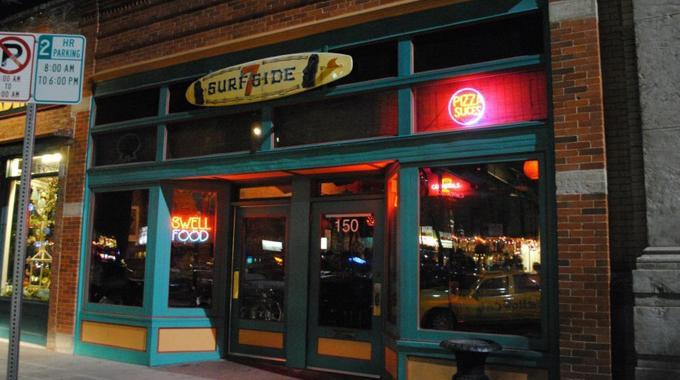 Surfside 7 concert venue in Old Town.