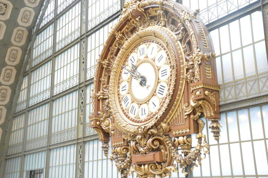 clock from Musee D'Orsay