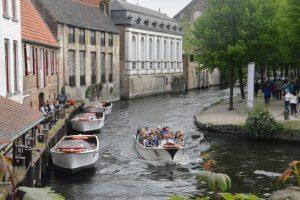 commercial canals in Belgium