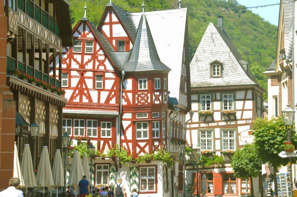 Bacharach, Germany, a small town