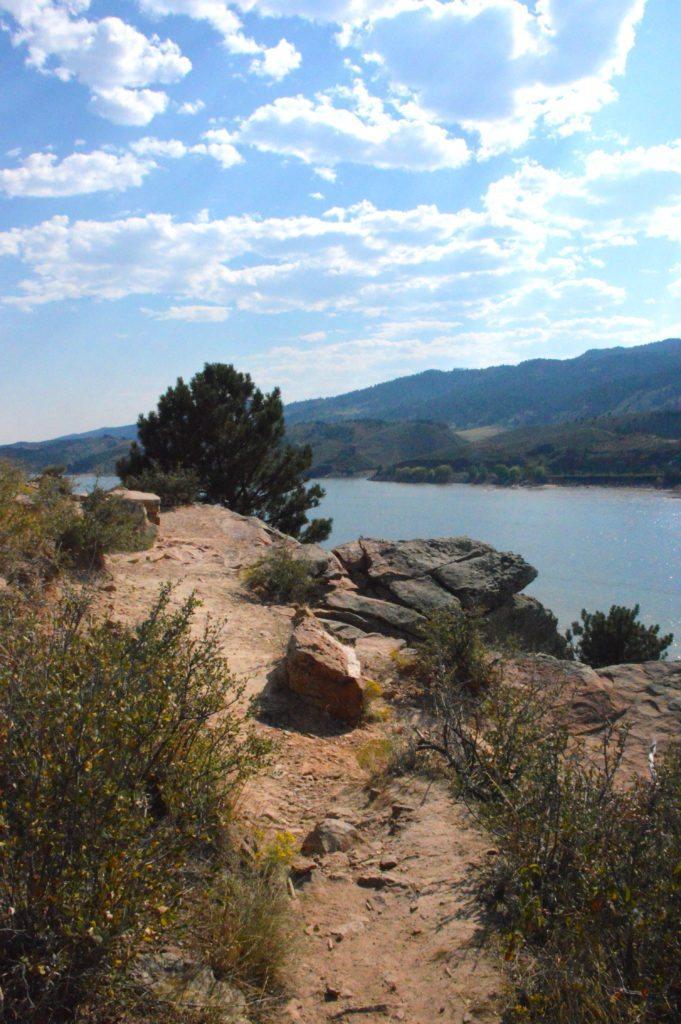 Horsetooth Reservoir shoreline