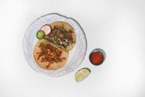 Tortillas Las Cuatro tacos