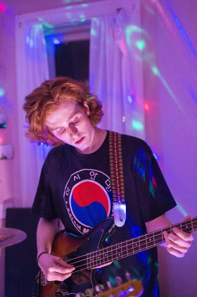 bassist Adam Robinson