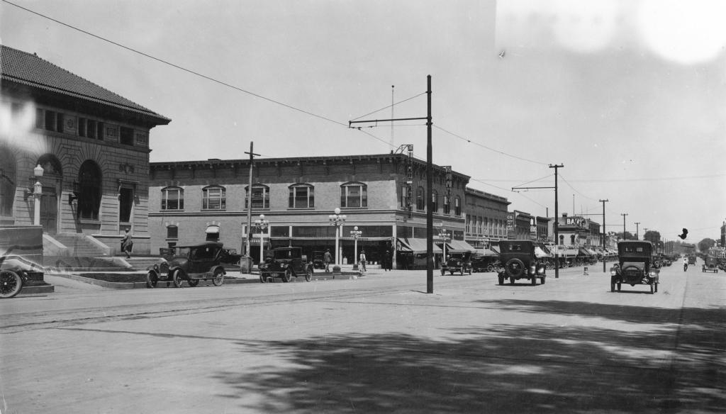 U.S. Post Office, Fort Collins, Colorado July 24, 1924