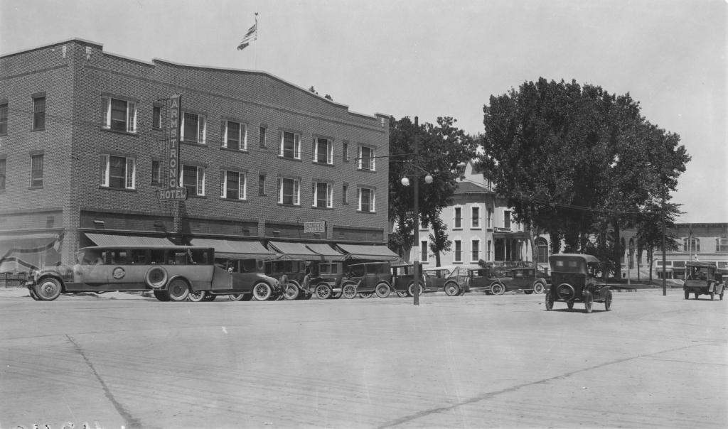 Armstrong Hotel, Fort Collins, Colorado July 24, 1924. Photo courtesy of Colorado State University.