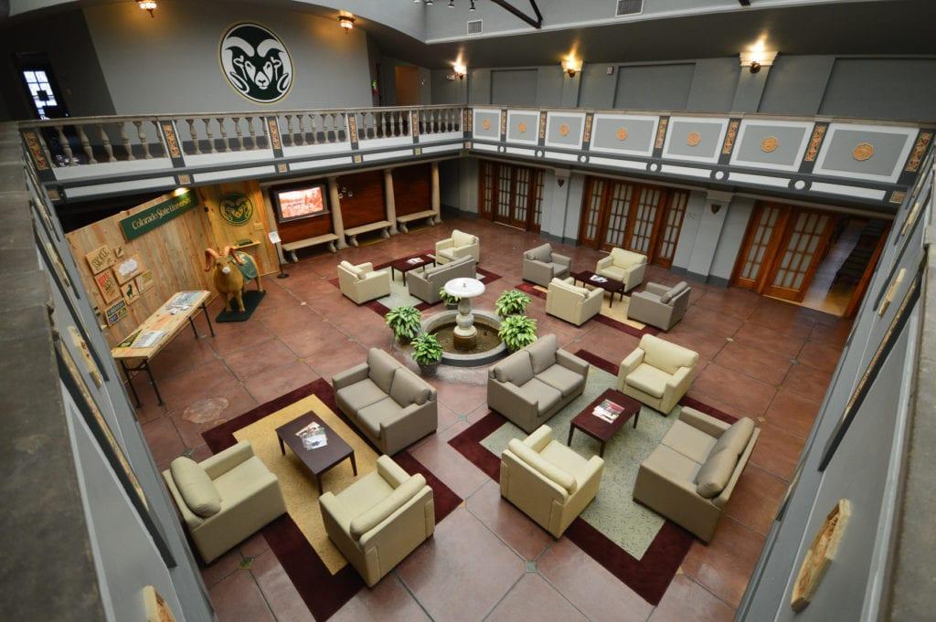 Ammons Hall interior