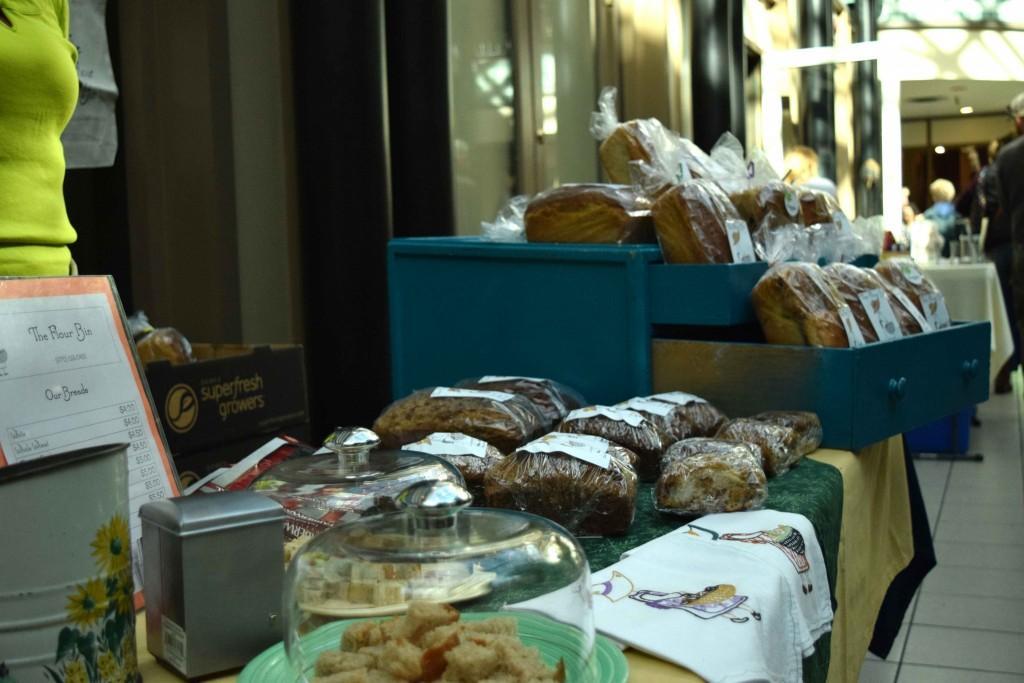 The Flour Bin display of breads