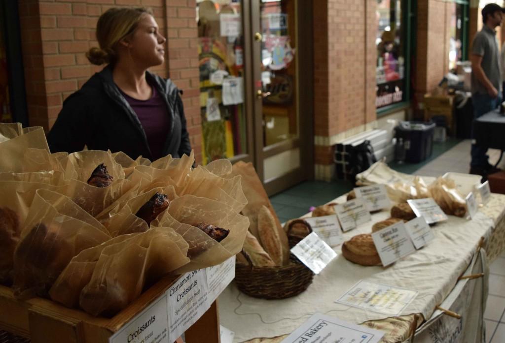 Ingrained Bakery bread display