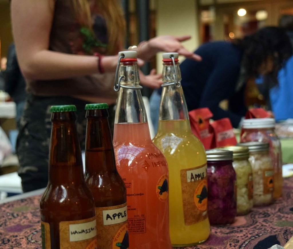 Turtle Mountain Tea bottles