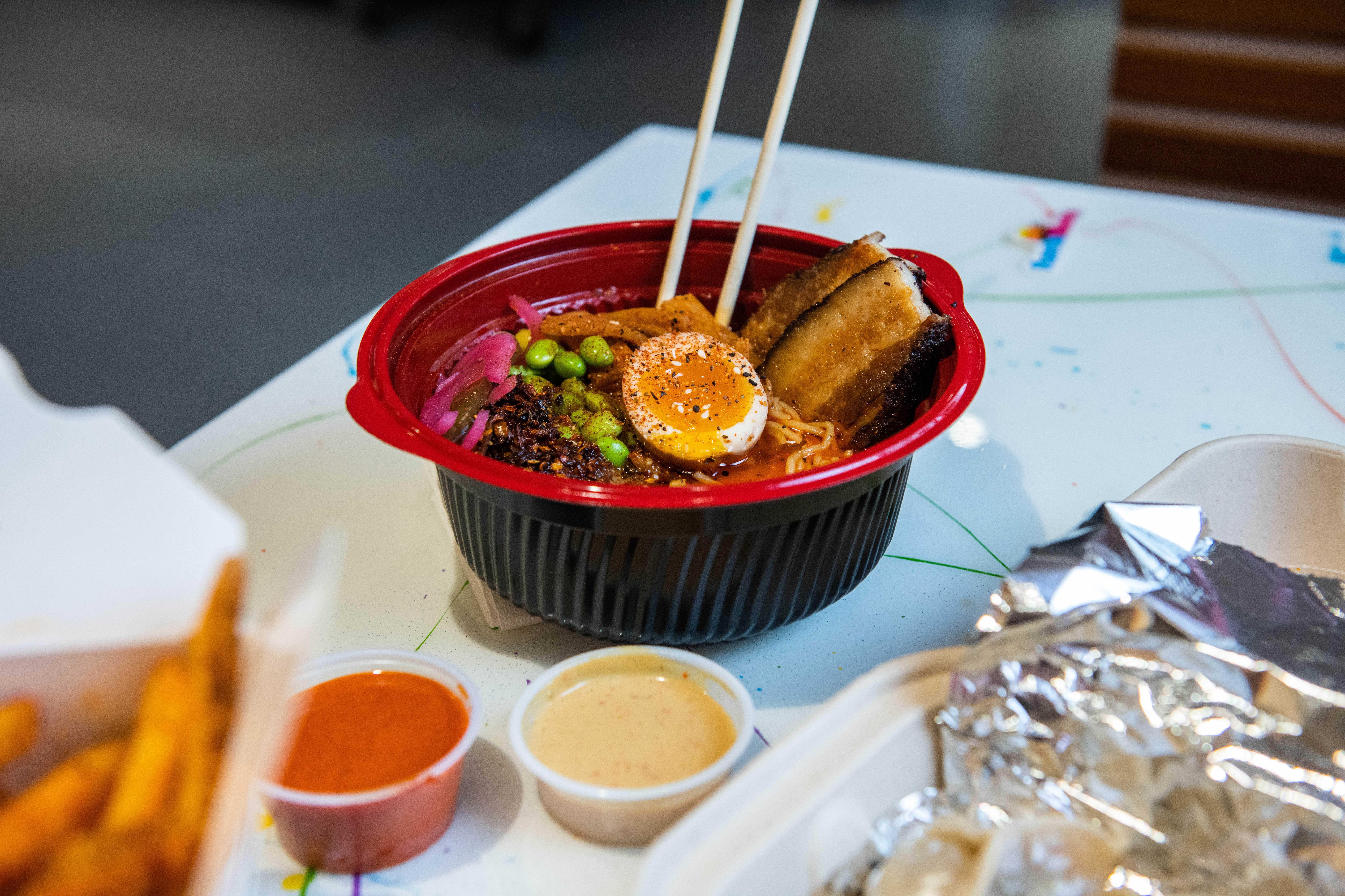 bowl of Rama Mama ramen takeout